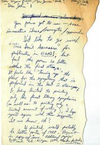 Egad Acceptance Letter 1988